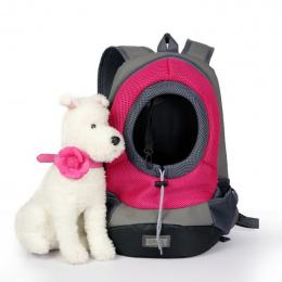 Odkryty Pet Dog Carrier Plecak Zwierzę Torba Przenośna Torba Podróżna Pet Dog Przodu Torba Siatka Plecak Głowy Out Podwójne Rami