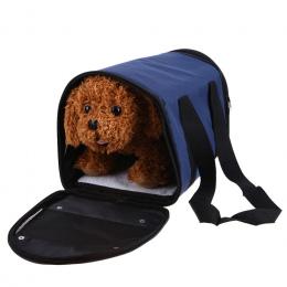 S/L Pies Torba Torby Dla Psów Dog Przewoźnicy Dog Torby Załadowane Sztruks Kolorowe Cat Pet Carrier Torba podróżna Miękkie 1.5-4