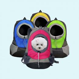Pet Carrier Dog Pet Carrier Plecak Torba Przenośna Torba Podróżna Pet pies Z Przodu Torba Siatka Głowy Out Podwójne Ramię Plecak