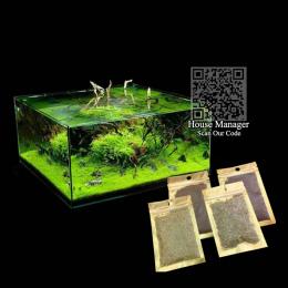 Waterweed Wody Akwarium Rośliny Nasiona Nasiona Traw, para/Cowhair/MIŁOŚĆ/Szczęście/w kształcie Serca Liści Waterscape Fish Tank