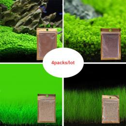 4 paczka/partia Akwarium Roślin Nasiona Wody Wodne Nasiona Trawy Łatwy Sadzenia Ozdobne Fish Tank Pejzaż Roślin