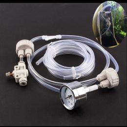 Akwarium DIY Zestawu Systemu CO2 Generator Z Ciśnienia Zawór Regulacji Przepływu Wody Roślin Ryby Akwarium Co2 Dyfuzor Powietrza