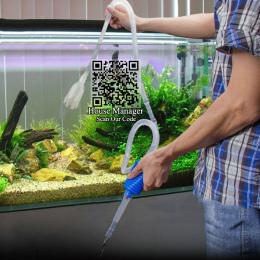 140 cm Akwarium Filtr Rura Ssąca Syfon Gravel Cleaner Narzędzie do Akwarium, urządzenie próżniowe Wody Zmiana Narzędzia Pompowe,
