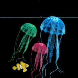 Efekt Sztuczna Meduza świecące Fish Tank Akwarium Dekoracji Mini Submarine Ornament 1 SZTUK