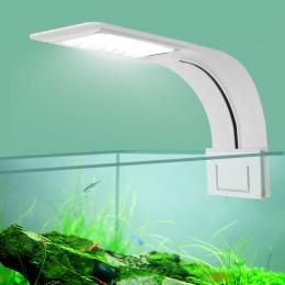 Super Slim LED Oświetlenie Diodowe do akwarium rośliny Rosną Światła 5 W/10 W/15 W Oświetlenie Roślin Wodnych wodoodporna Clip-o