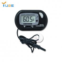 Ekran LCD cyfrowy Czujnik Wody w Akwarium Termometr Kontroler Przewodowy Fish Tank Akcesoria Akwarium Termometr Akcesoria