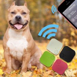 Nowy Suqare Finder Alarm Lokalizator GPS Tracker Zwierzęta Dzieci Portfel Klucze W Czasie Rzeczywistym Urządzenia Dla Psy Koty Z