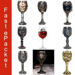 1 sztuk Fajne Projekt Wine Glass Horror Kubek Czaszki Czara Idealny Prezent Czaszki Dla Miłośników Halloween Theme Stron Darmowa