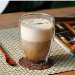 Odporne Na ciepło Podwójna Ścianka Szkła Filiżanki Herbaty Piwa Kubek Kawy Zestaw Ręcznie Twórcze Zdrowy Napój Kubek Przezroczys