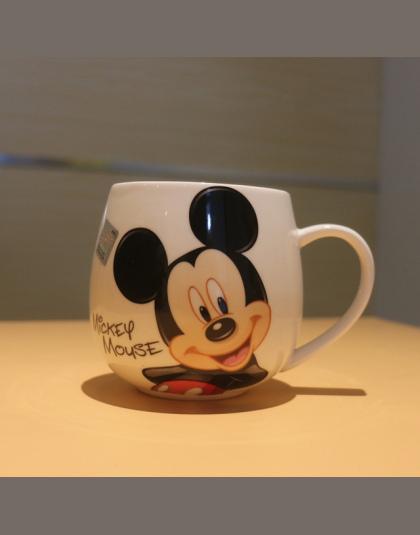 Cartoon Mickey Minnie Ceramiczne Kubki Kubek Mleka 320 ml Kreatywny Moda Pary Kubek Kawy Kubek Wody Słodkie Śniadanie Kubek