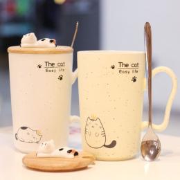 Gypsophila sezamowy puchar wrażenie kotek Papa kot ceramiczny kubek mleka kubek kawy puchar kreatywny biurowe śniadanie prezenty