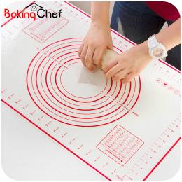 BAKINGCHEF Mata Silikonowa Do Pieczenia Pizzy Ciasta Ekspres Ciasta Gadżety Kuchenne Narzędzia Kuchenne Naczynia Do Pieczenia Ug