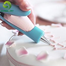 Deco Wisienką Pióra Zestaw Rurociągi Cream Strzykawka Porady Dysze Ciasto Dekorowanie Narzędzia Muffin Deser Dekoratorów Z Ciast