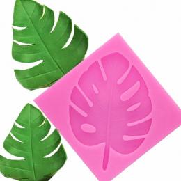 3D drzewo liść formy Sugarcraft Leavf silikonowe formy Żółw liści kremówka ciasto dekorowanie narzędzia Pozostawia chocolate gum
