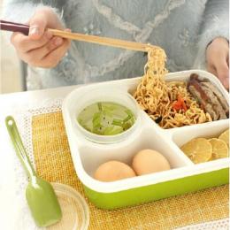 Hoomall Pojemnik Z Tworzywa Sztucznego Żywności Pudełka Na Lunch Lunchbox Przenośne Pudełka do Żywności Dla Dzieci Piknik W Kuch