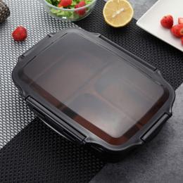 ONEUP Lunch box Ze stali Nierdzewnej Przenośny Piknik szkoły pojemniki na żywność Z Przegródkami Mikrofalowa Bento Box