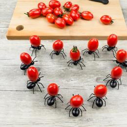 Wielokrotnego Użytku Przekąski Ciasto Deser stołowe Widły Na Imprezę 12 sztuk/zestaw Owoców Widelec Wielokrotnego Użytku Kawaii