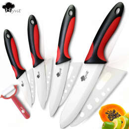 Ceramiczne Nóż Noże Kuchenne 3 4 5 6 cal z Obierania Szefa Kuchni Okrawki Owoce Warzywa Narzędzie Krajalnica Nóż Białe Ostrza ze