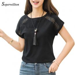 Bawełna Lato Bluzki Koronki Batwing Rękawem Koszule Dla Kobiet Topy Koszulki Plus Size Kobiet Odzież Koreański 2018 Blusas Kobie