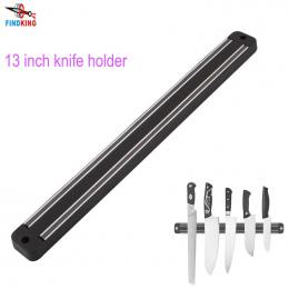 FINDKING Wysoka Jakość 13 cal Placstic Bloku Magnes Magnetyczny Uchwyt Noża Do Montażu Na Ścianie Czarny ABS Uchwyt Noża Do meta