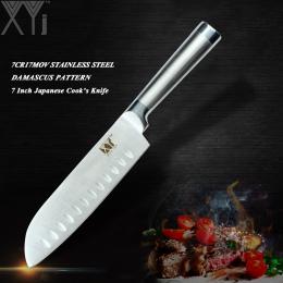 Japoński Styl XYj Ze Stali Nierdzewnej Nóż Kuchenny Okrawki Utility Chef Odcinanie nóż Santoku Chleb Gotowania Nóż Ze Stali Wyso