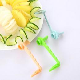 Kuchnia Warzywa Cutter Ziemniaków Spiral Slicer Cutter Marchew Tryby Cięcia Narzędzia Kuchenne