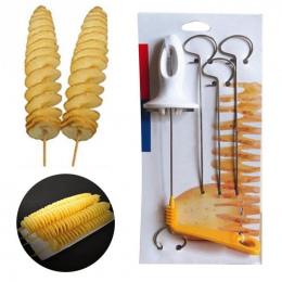 Instrukcja Krajalnica Cutter Spiral Twister Tornado ziemniaków Chips Kuchnia Gotowanie Ekspres
