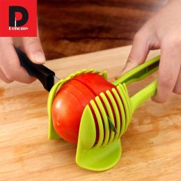 Dehomy Instrukcja Krajalnice Pomidor Krajalnica Owoce Cutter Pomidorów Cytryny Cutter Asystent Leniuchowaliśmy Gotowania Uchwyt