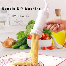 8 sztuk/partia Makaronu Maszyny Ekspres Kluski Maker DIY Maszyny Kuchenne Spaghetti Pates Maszyny Makaronu Ekspres Naciskając Ma