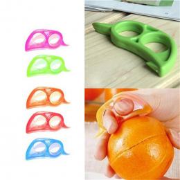 1 PC Plastik Pomarańczowy Stripper Zesters Grejpfrut Owoców Cytryny Obieraczki Krajalnica Otwieracz Owoce Cytrusowe Narzędzia Ku