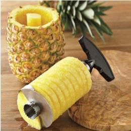 Nowy Nabytek, Ananas krajalnica obierak cutter parer nóż ze stali nierdzewnej owoce kuchnia narzędzia gotowanie narzędzia darmow
