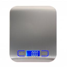 11LB/5000g Cyfrowa Waga Kuchenna Ze Stali Nierdzewnej Elektroniczny Bilans LED Żywności Wagi Kuchnia Gotowanie Narzędzi Pomiaru