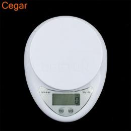 5 kg 5000g/1g Cyfrowy Kuchni Food Diet Pocztowy Skala Wagi Elektroniczne Wagi Równowagi Ważenia Elektroniczny LED waga kuchenna