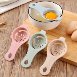 1 PC 13*6 cm Plastikowe Biały Żółtko Jajka Separator Przesiewania Strona Główna Kuchnia Kucharz Kuchnia Gotowania Gadżet Nowy