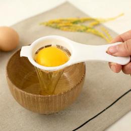 Eco Friendly Żółtko Biały Separator Jaj Dzielnik Egg Narzędzia PP Materiał Spożywczy Kuchnia Jadalnia Narzędzia