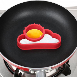 Słońce i chmury jaj formy odporne na wysokie temperatury Formy silikonowe Fried Fry Jaj gadżety kuchenne