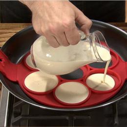 Pancake Maker Nieklejąca Narzędzia Do Gotowania Jaj Pierścień Ekspres Naleśniki Ser Kuchenka Jaj Pan Klapki Jaj Formy Do Pieczen