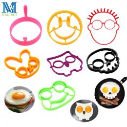 1 pc Silikon Jaj Pierścienie Śniadanie Jajko Formy Pancake Egg Formy Narzędzia Kuchenne Akcesoria kuchenne