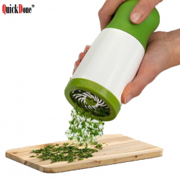 QuickDone Herb Grinder Spice Młyn Pietruszka Tarka Rozdrabniacz Chopper Warzywa Cutter Gotowania Narzędzia Kuchenne CKC1126