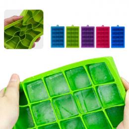 Plac Silikon Formularz do Ice Mold Taca Owoców Popsicle Lody Maker dla Wina Kuchnia Bar Picie Akcesoria 5 Kolorów