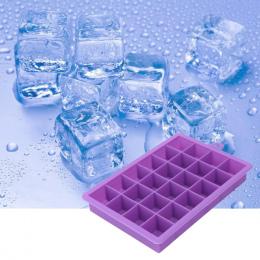 DIY Kreatywny Duża Silikonowe Formy Lodu Tacy Kwadratowy Kształt Ice Mold Owoce Lodów Bar Kuchnia Akcesoria Forma De gelo