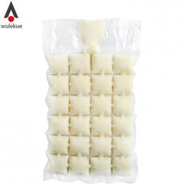 Wulekue 10 sztuk Jednorazowe Ice Cube Tray Mold Wtrysku Wody Cocktail Sprawia Lodu torba Pić Sok Uzupełniające żywności Narzędzi
