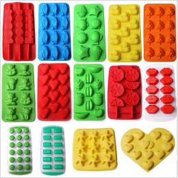 Ice Maker Mould DIY Kreatywne Ice Cube Mold Silikonowy Lodu Tacy Owoce Ice Cube Maker Bar Akcesoria Kuchenne