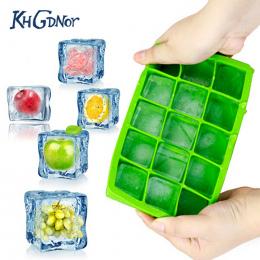 DIY Kreatywny Big Ice Cube Mold Kwadratowy Kształt Silikonowy Lodu Tacy Owoców Ice Cube Maker Bar Akcesoria Kuchenne