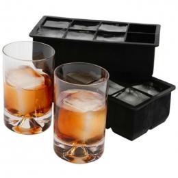 8 Big Cube Jumbo Duża Silikon Ice Cube Kwadratowe Tacy Formy Formy Kostki Lodu Ekspres Akcesoria Kuchenne