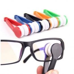 1 pc Nowa Mikrofibra Mini Sun Glasses Okularowe Mikrofibry Szczotka Do Czyszczenia Cleaner Okulary Narzędzia Clean Brush