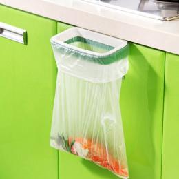 Szafka Drzwi Powrotem Wiszące Śmieci Rack Przechowywania Kuchnia Śmieci Śmieci Torba Może Uchwyt Wiszące Szafki Kuchenne Śmieci