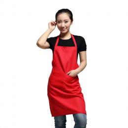 WITUSE Kobiet Fartuch Z Kieszeniami Kuchni Restauracji Kelner Fartuch Gotowanie Sklep Dzieło Sztuki Koreański Aprons'