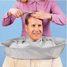 Składany Dorosłych Odzież Cięcia Włosów Szalik Farbowanie Włosów Płaszcz Parasol Cape Oddychające Salon Fryzjer