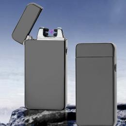 Klasyczne Inovation Podwójne arc Zapalniczki Wiatroszczelna Elektroniczny Ładowania USB Zapalniczka Palenie Papierosów Elektrycz